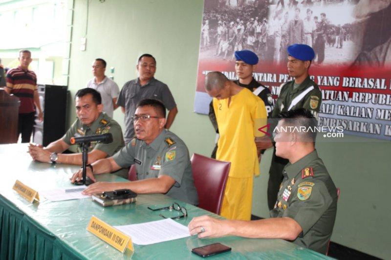 Kodam Sriwijaya tangkap anggota diduga pembunuh kasir minimarket