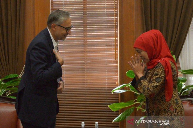 Dubes Inggris Moazzam Malik berpamitan di Surabaya