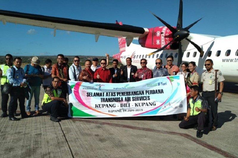 Maskapai penerbangan TransNusa mulai terbangi rute internasional Kupang-Dili