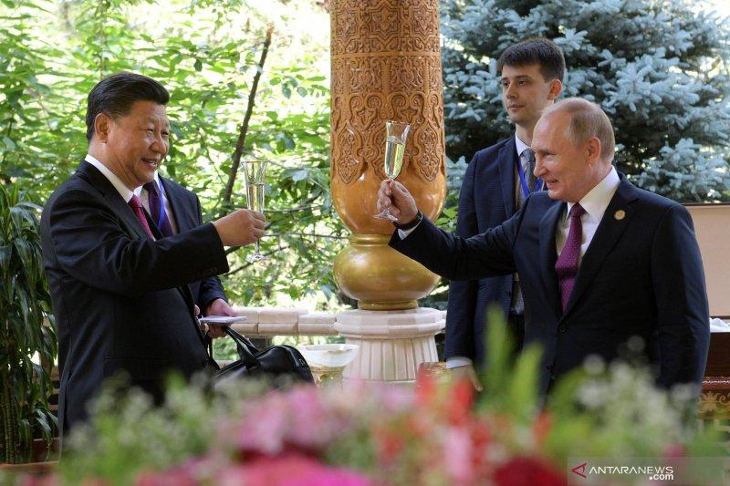 Kremlin puji hubungan khusus dengan China