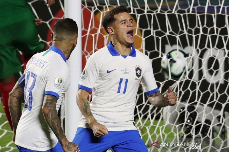 Brazil tundukkan Bolivia di laga pembuka 3-0