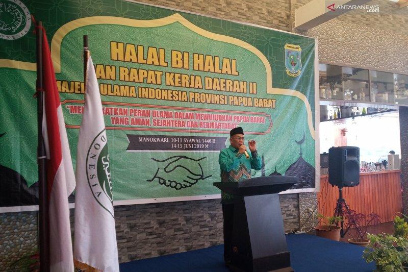 MUI ajak muslim Papua Barat jaga kerukunan