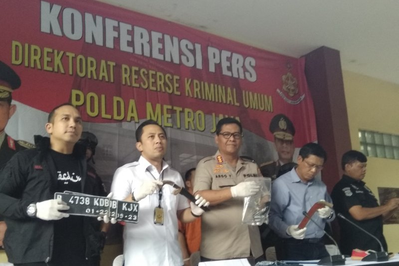 Jaringan ranmor Lampung gasak ratusan motor dalam setahun