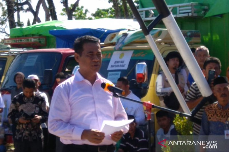 Kementan dan mitra salurkan bantuan pertanian senilai Rp70 miliar