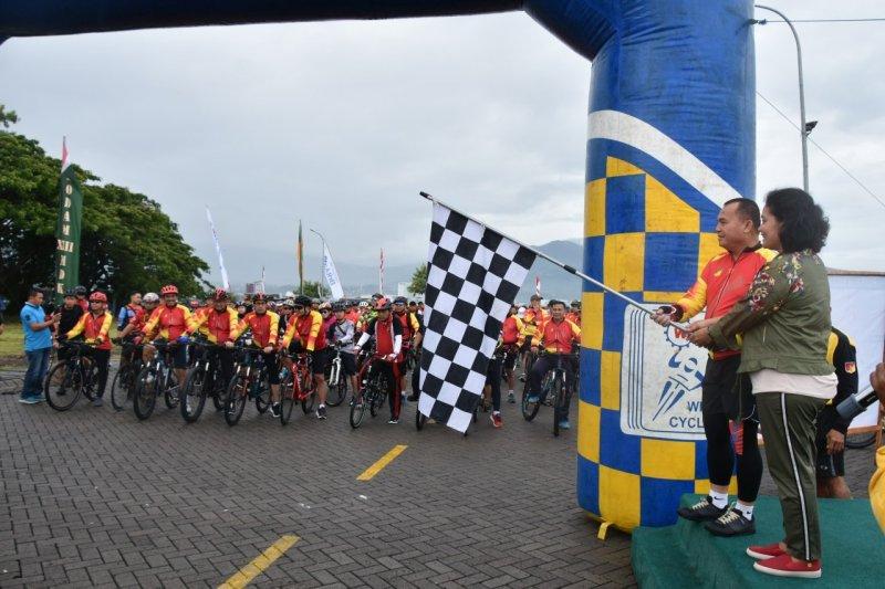 """""""Jaya Sakti Fun Bike"""" meriahkan HUT ke-61 Kodam XIII/Merdeka"""