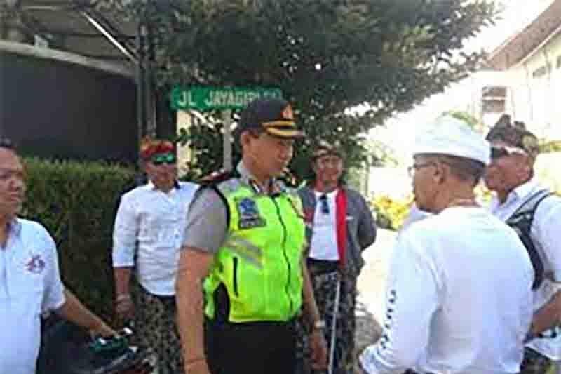 Polresta Denpasar amankan Pawai Pesta Kesenian Bali ke-41