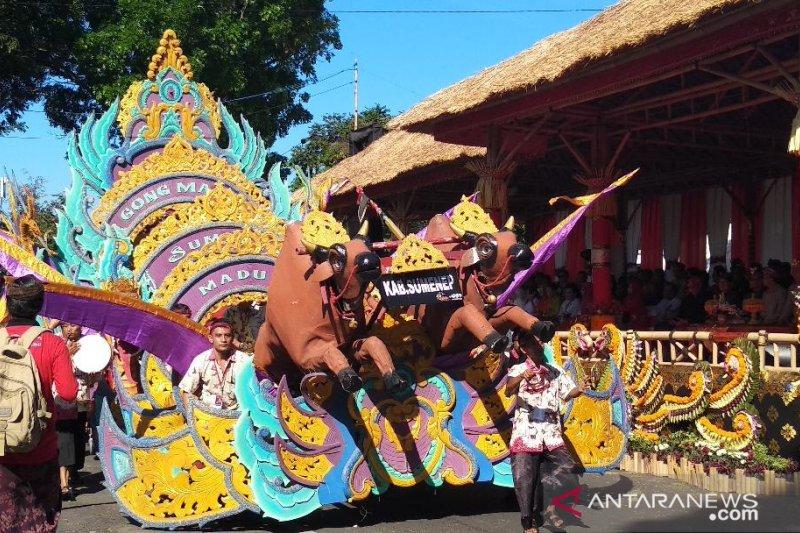 Musik Tong-Tong ditampilkan Sumenep di Pesta Kesenian Bali 2019
