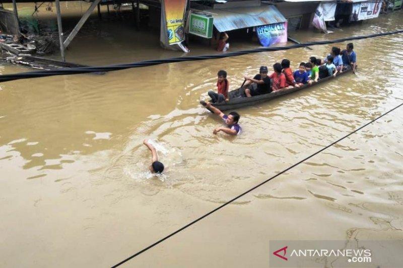 Banjir di Mahakam Ulu mulai surut