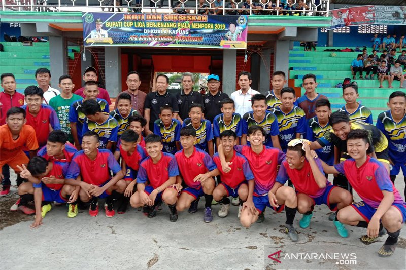 10 tim sepakbola Kapuas usia dini ikuti Liga Piala Menpora