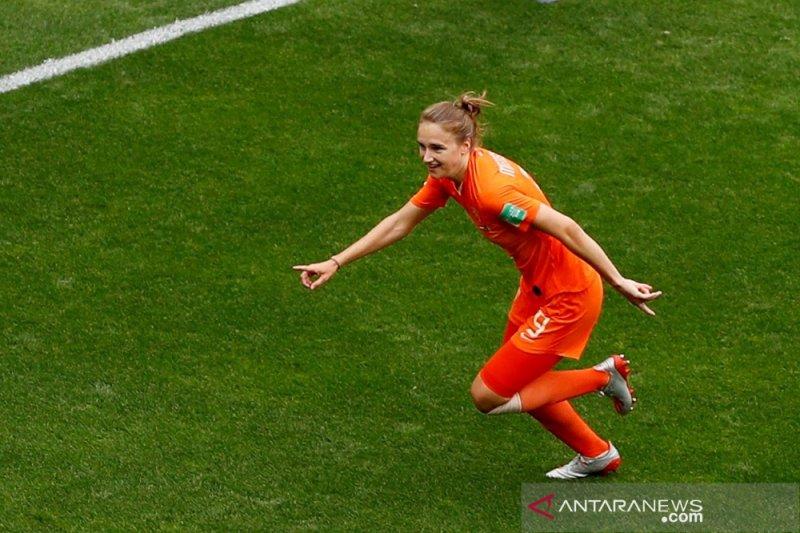 Belanda amankan tiket 16 besar Piala Dunia Putri 2019