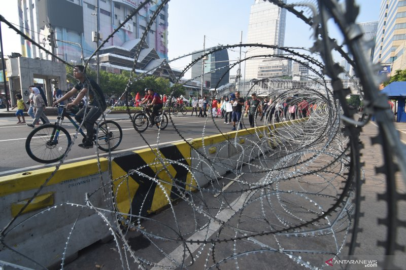 Pemprov DKI Jakarta kembali berlakukan car free day pascalibur lebaran