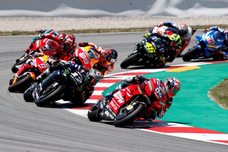 Sebabkan kecelakaan beruntun GP Catalunya, Lorenzo sampaikan permintaan maaf