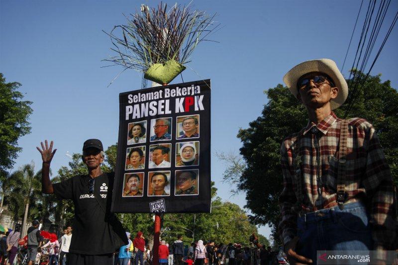 Aksi dukungan untuk Pansel KPK