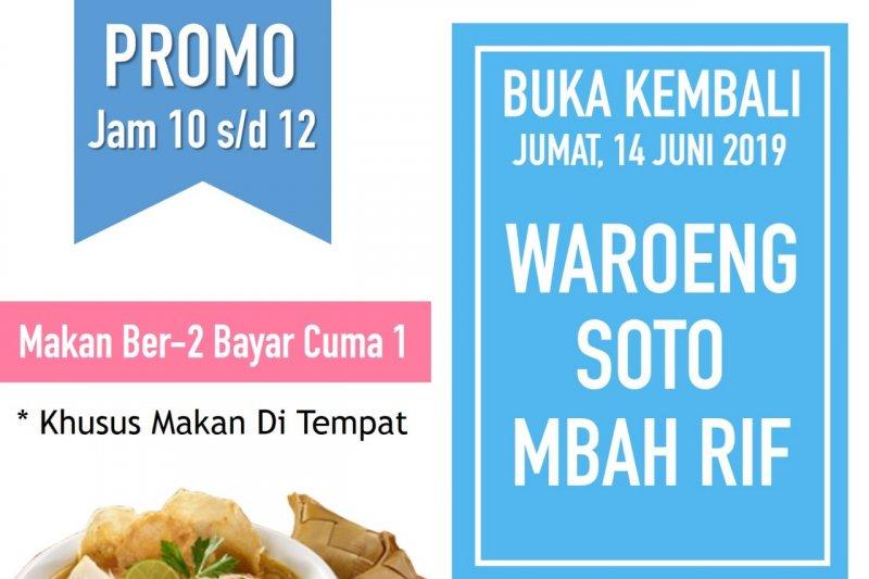 ACT Lampung gandeng warung soto galang donasi