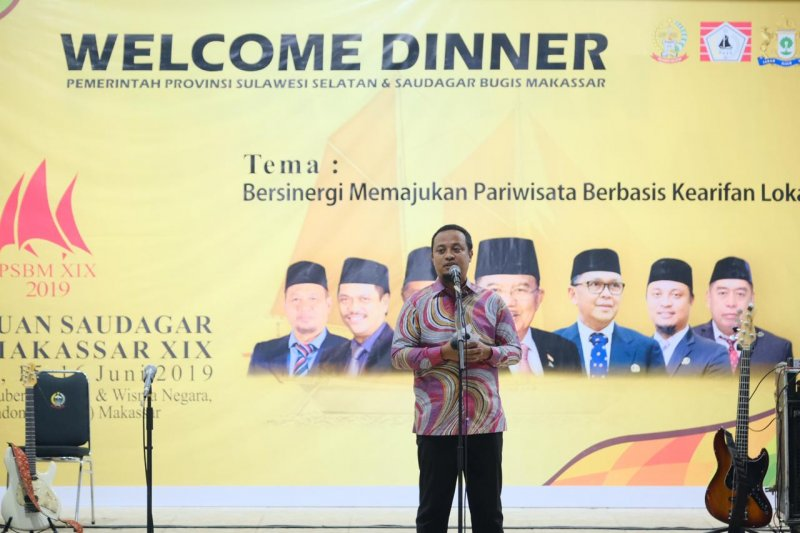 Wagub berharap  Saudagar Bugis Makassar bersinergi majukan Sulsel