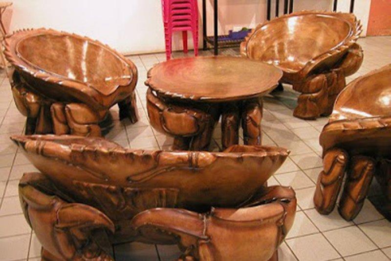 Ukiran kayu khas Pulau Betung terancam punah