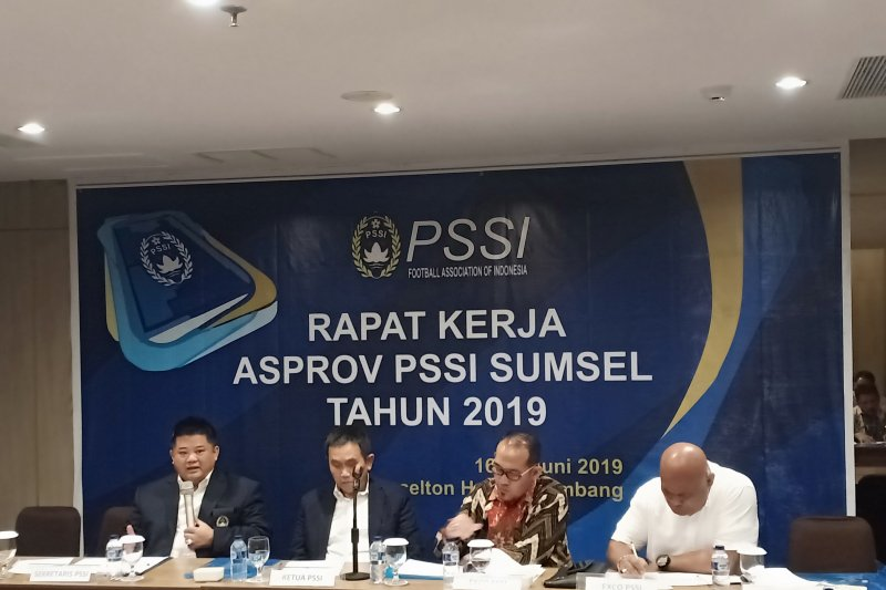 Hadapi tiga agenda, PSSI Sumsel mantapkan program kerja 2019
