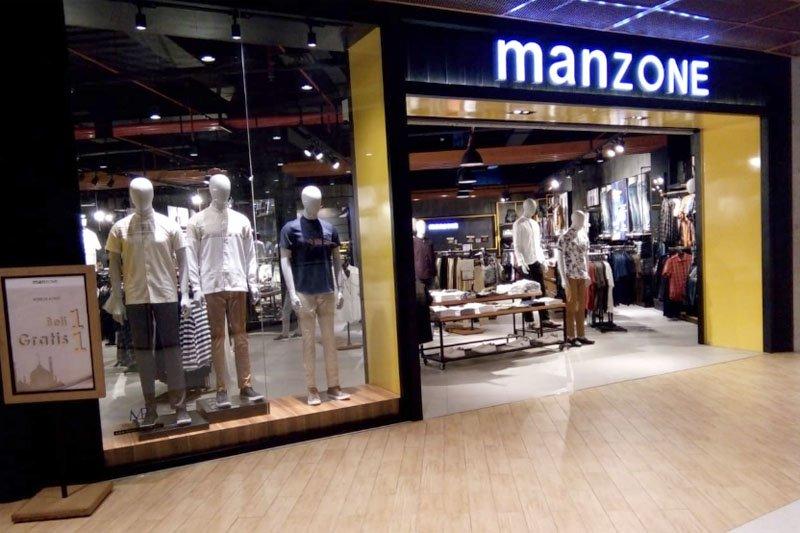 "Manzone Nipah Mall promo pakaian ""Pay 1 Get 2"""
