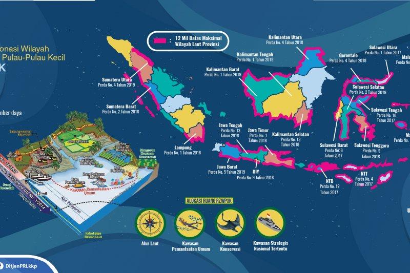 KKP: 21 provinsi sudah miliki Perda Zonasi Wilayah Pesisir