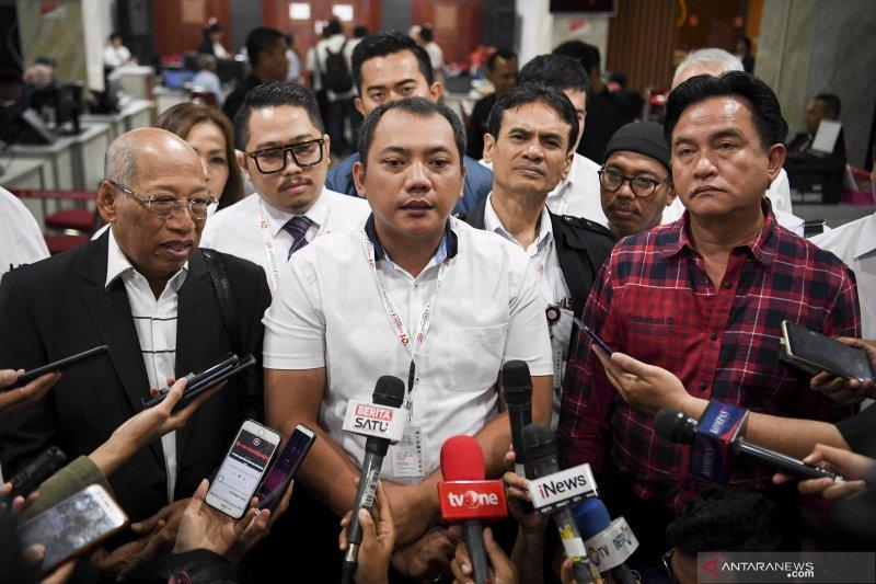 Tim Hukum Jokowi-Ma'ruf yakin MK tolak gugatan sengketa PHPU