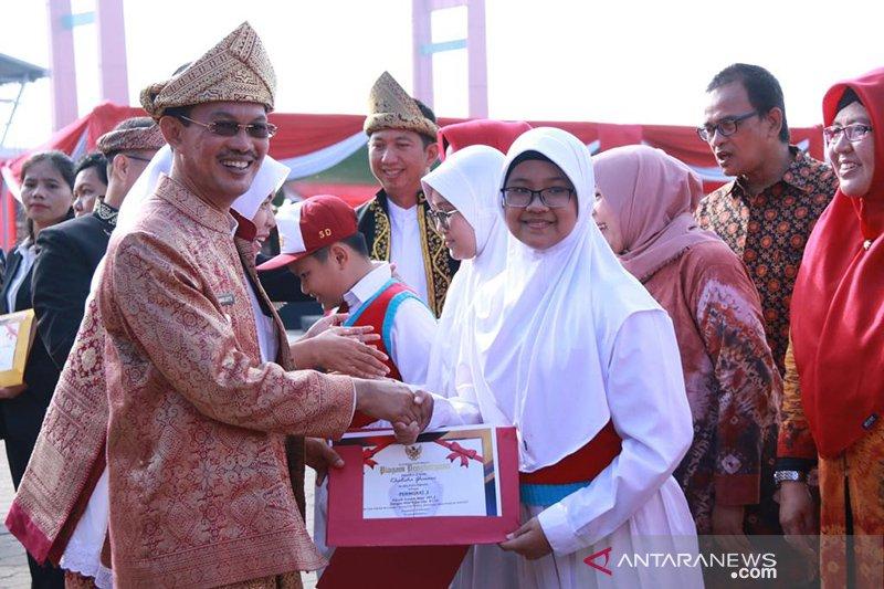 Pemkot gelar upacara peringatan hari Jadi Kota Palembang ke 1336