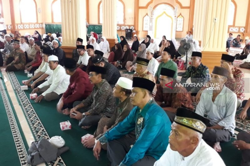 Pembebasan lahan Masjid Agung Payakumbuh, satu warga masih enggan menjual tanahnya