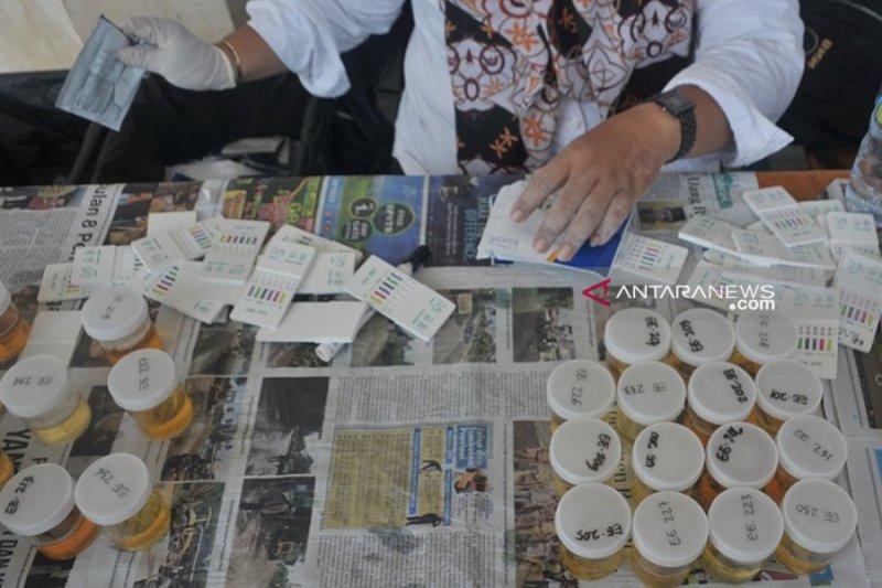 Jambi gelar tes urine gratis di pusat perbelanjaan
