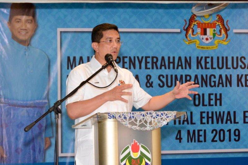 Menteri Malaysia beri pernyataan ke polisi