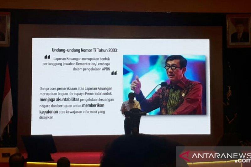 Menteri Hukum dan HAM: Napi korupsi tidak perlu ke Nusakambangan