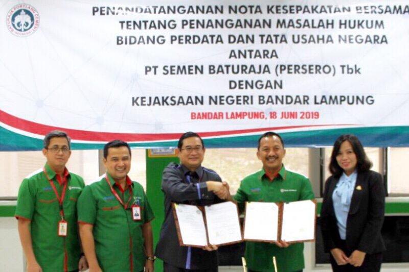 PT Semen Baturaja-Kejaksaan jalin kesepakatan penanganan masalah hukum