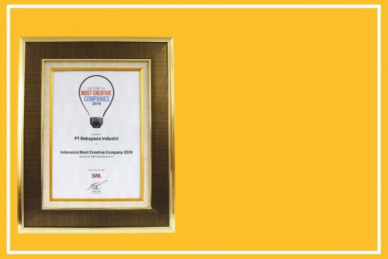 SWA anugerahi Rekind Indonesia Most Creative Company 2019