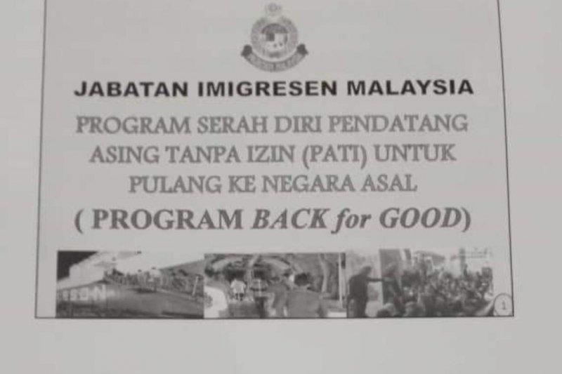 Program serah diri PATI di Malaysia masih usulan