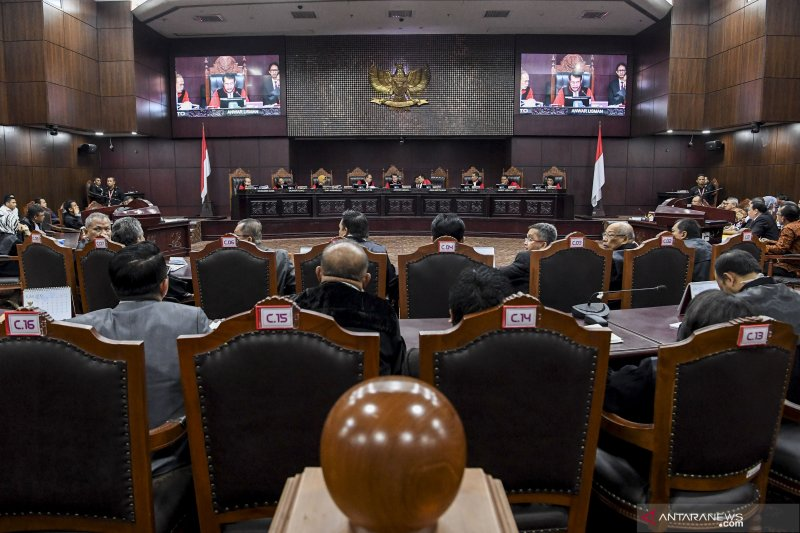 Mahkamah Konstitusi RI gelar sidang ketiga sengketa Pilpres 2019