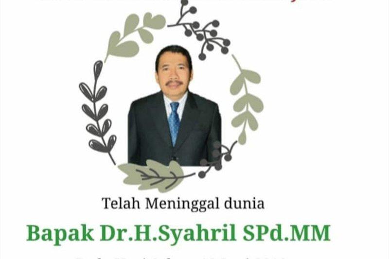 Syahril, Caleg terpilih DPRD Kota Pekanbaru dari PKS meninggal dunia