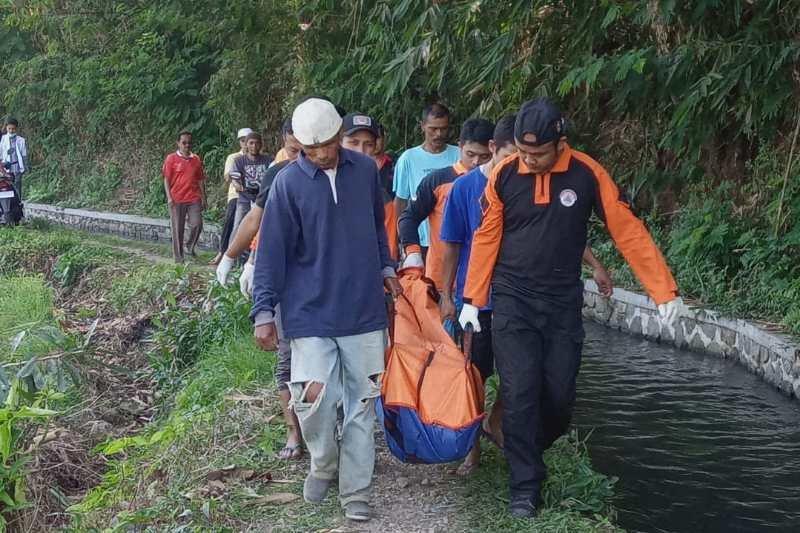 Warga Temanggung ditemukan meninggal di irigasi