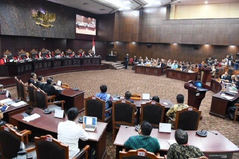 Selain Mengesahkan Alat Bukti, MK Juga Tolak Saksi Prabowo-Sandi Dilindungi LPSK