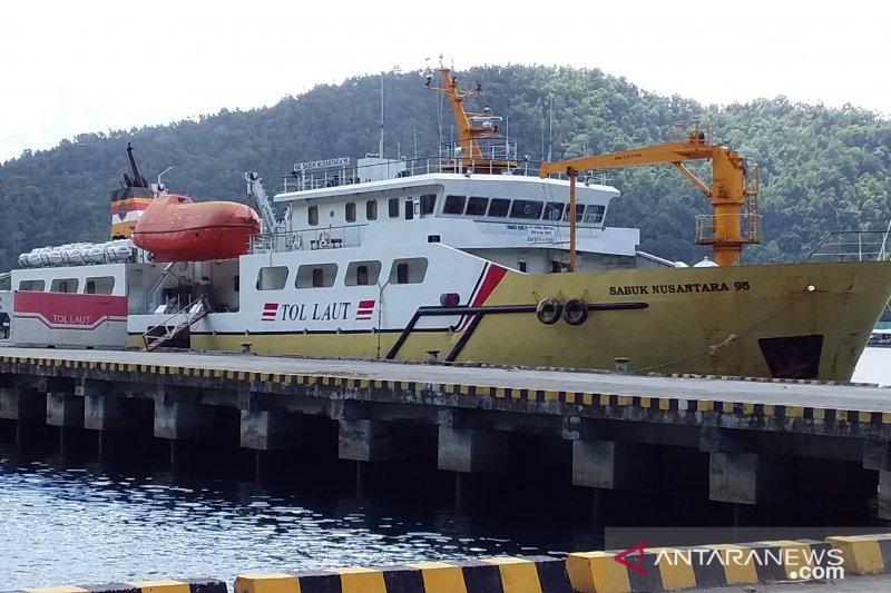 Kapal tol laut masuk lagi ke Pelabuhan Tahuna akhir Juni