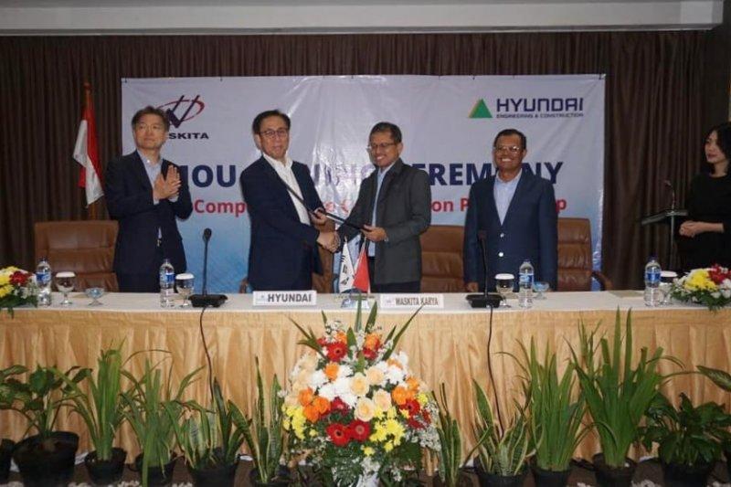 Hyundai gandeng Waskita Karya garap bisnis konstruksi