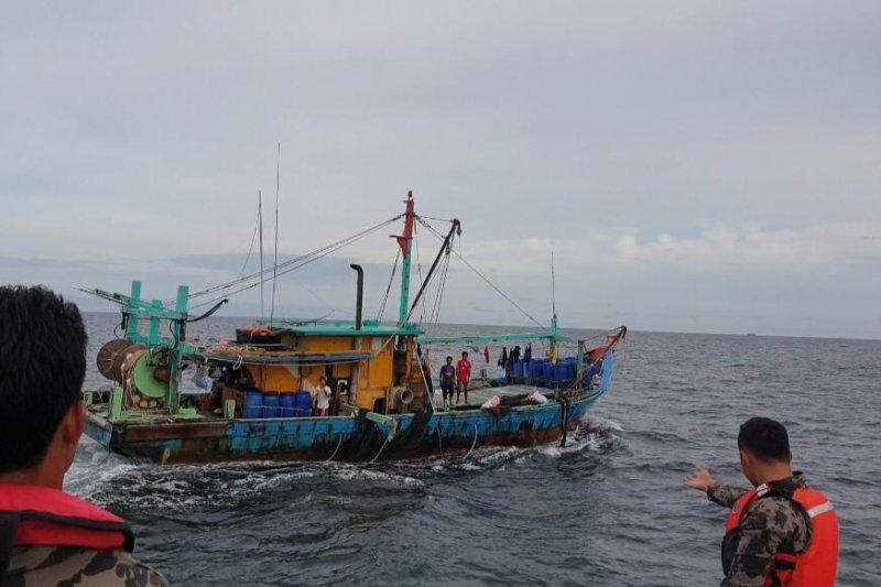 Lagi, KKP tangkap kapal ilegal asal Malaysia