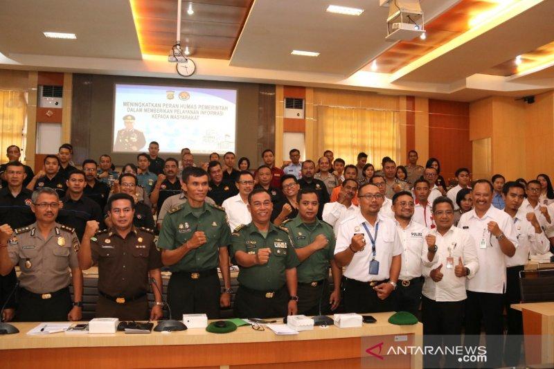 Sejumlah pengelola informasi publik bahas hoaks di Polda Bali
