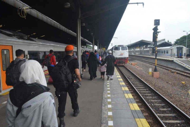 Angkutan Lebaran dari stasiun Cirebon ada peningkatan 13 persen