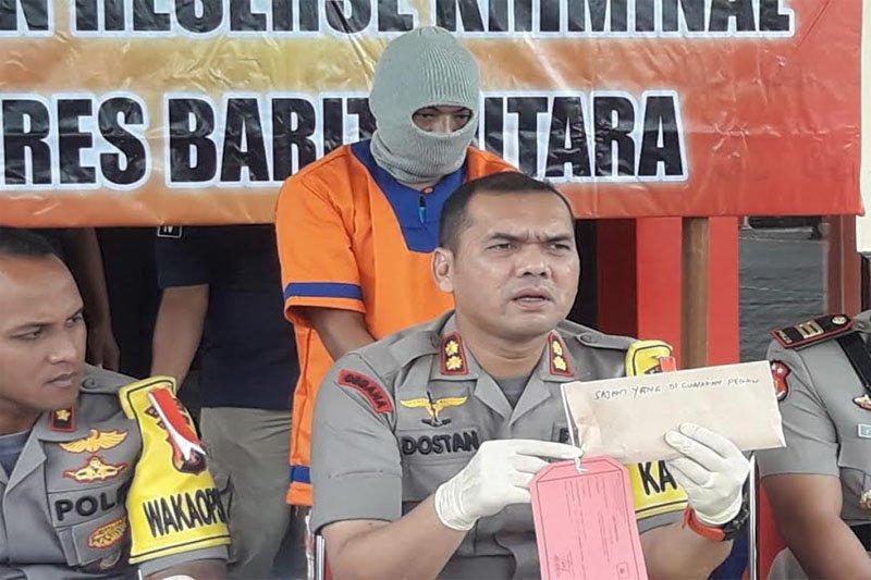 Polisi ungkap kasus pembunuhan tiga tahun lalu di Muara Teweh