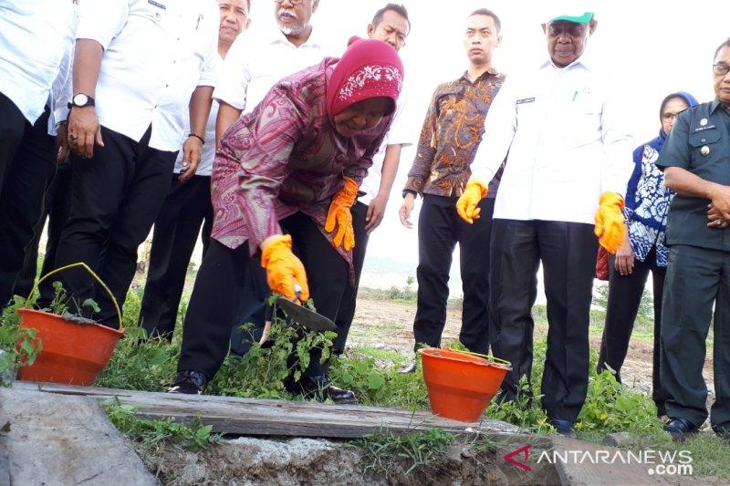 Pembangunan huntap oleh Pemkot Surabaya dimulai
