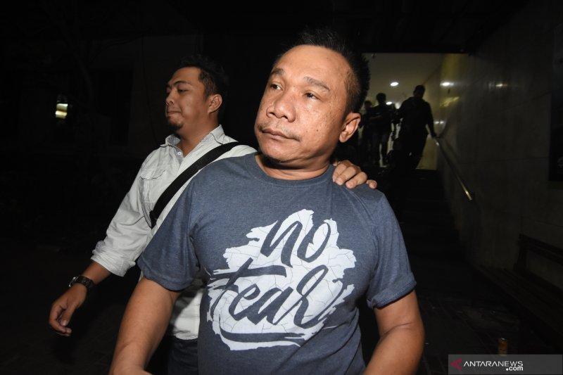 Polisi konfrontir tersangka pelaku pembunuhan berencana pejabat negara dengan Kivlan Zein