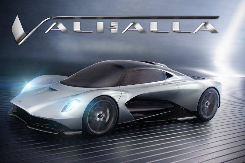 """Ini penampakan """"hypercar"""" kolaborasi Aston Martin dan Red Bull"""