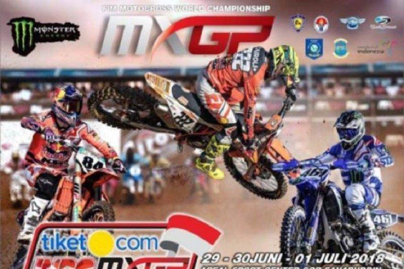 Kondisi tanah labil, lokasi kejuaraan Motorcross Grand Prix Palembang dialihkan