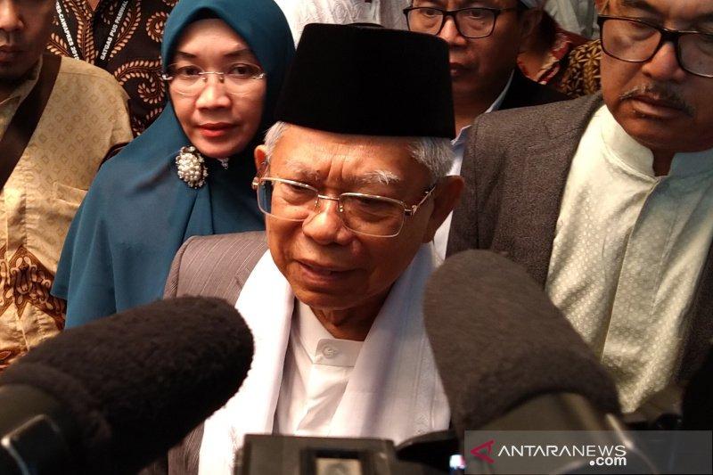 Jaga NKRI, Ma'ruf Amin minta para ulama mengarusutamakan Islam moderat