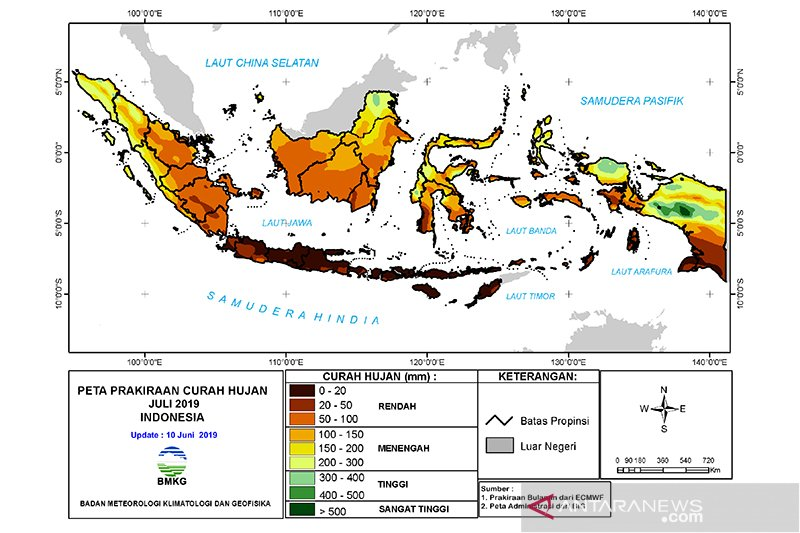 Selasa, Jakarta tidak hujan tapi waspada banjir kiriman
