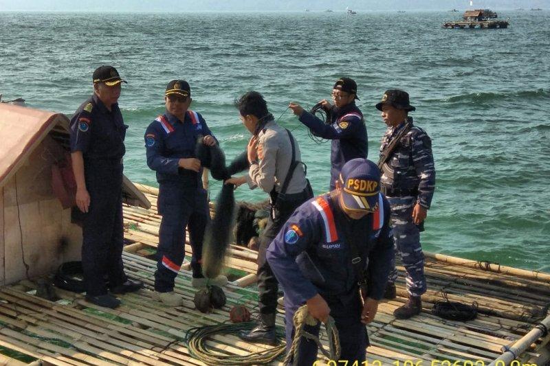Kementerian Kelautan dan Perikanan tertibkan alat tangkap benih lobster