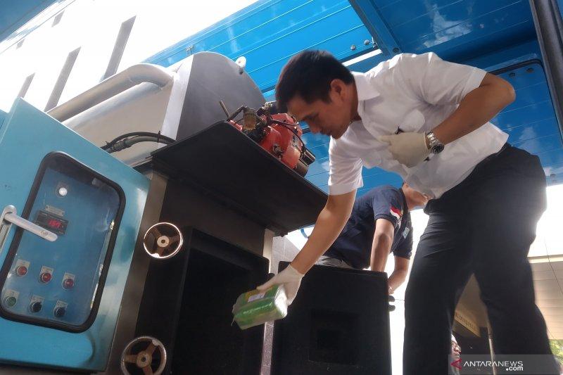 Bareskrim sita 72 kg paket sabu asal Malaysia